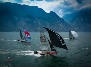 2018 18ft Skiff Europeans Mark Foy Trophy – Lake Garda – VIDEO