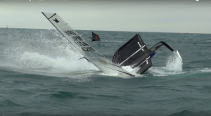 Filmed at the 2015 Moth World Championships, Hartas Productions compiled all the best capsizes to create an awesome video of Moths Crashing in Super Slow Motion!